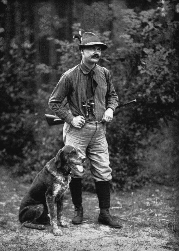 Jaeger Richard Skowronnek 1912