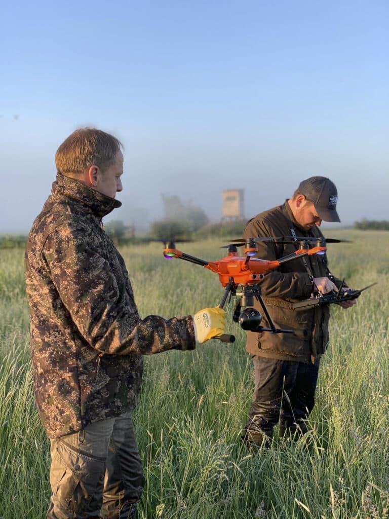 Rehkitzrettung Jagdgenossenschaft Mandelsloh 00017