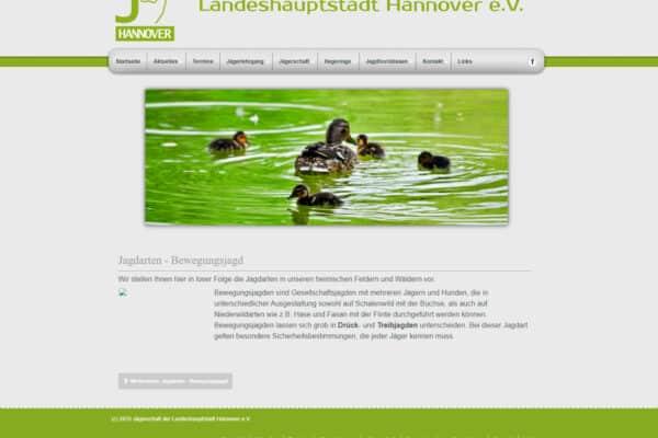 Jägerschaft der Landeshauptstadt Hannover e.V.
