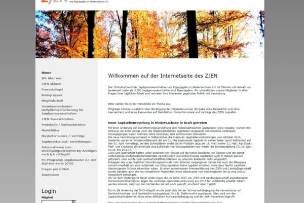 Zentralverband der Jagdgenossenschaften und Eigenjagden in Niedersachsen e.V.