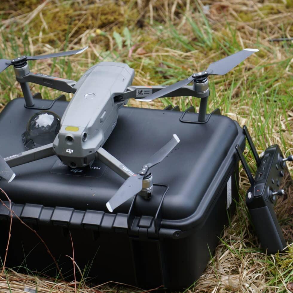 Zwei Drohnen für die Jägerschaft
